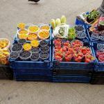 Früchte Bauernmarkt St. Petersburg