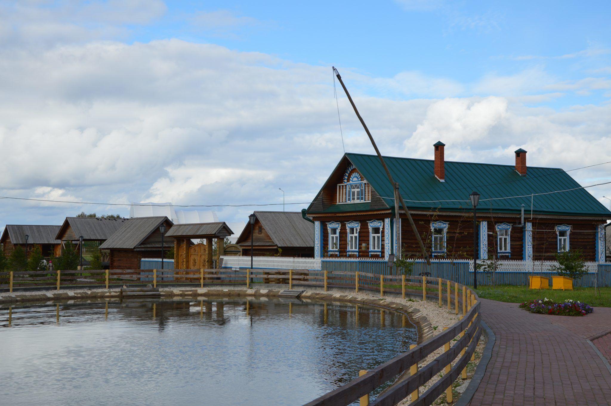 tatarischen Dorf