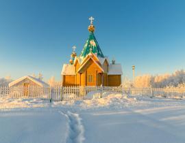 Kirche Murmansk Region