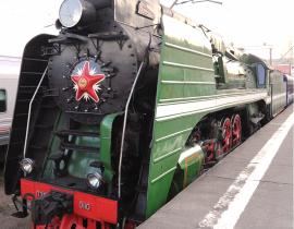 Lok - Romanow Express, Transsibirische Eisenbahn