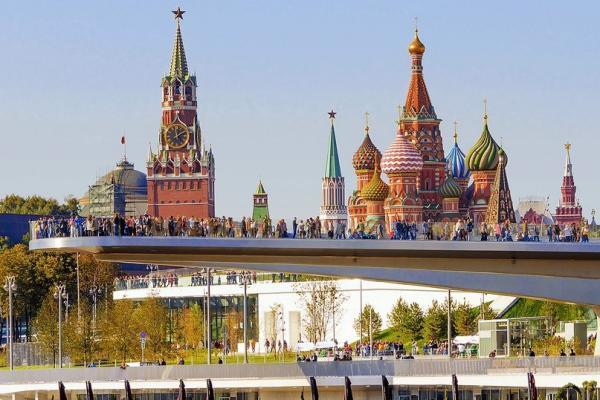 Moskau Kasan Reise: Sarjadje-Park Moskau