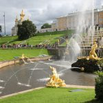 Wasserspiele am Peterhof, St. Petersburg