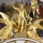 Statue in der Isaak-Kathedrale, St. Petersburg