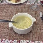Russische Küche: Kurinyy Sup Lapscha - Hühnernudelsuppe