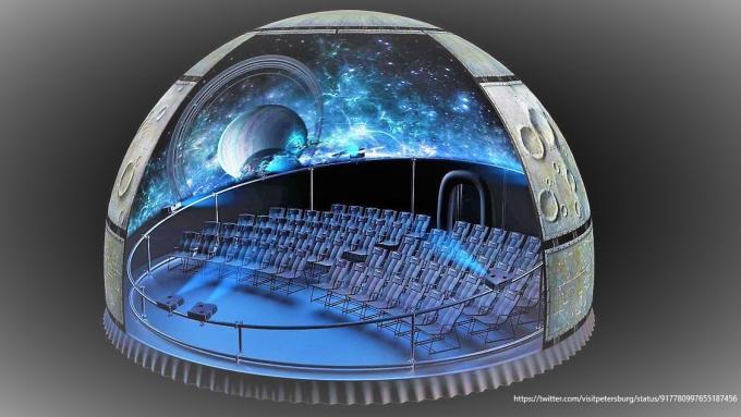Planetarium, St. Petersburg