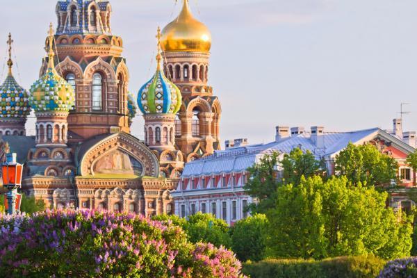 Erlöserkirch in St. Petersburg