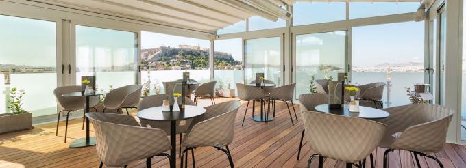 Dachterrasse - Hotel Cypria, Athen