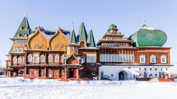 Silvester in Moskau: Freilichtmuseum Kolomenskoje, Moskau