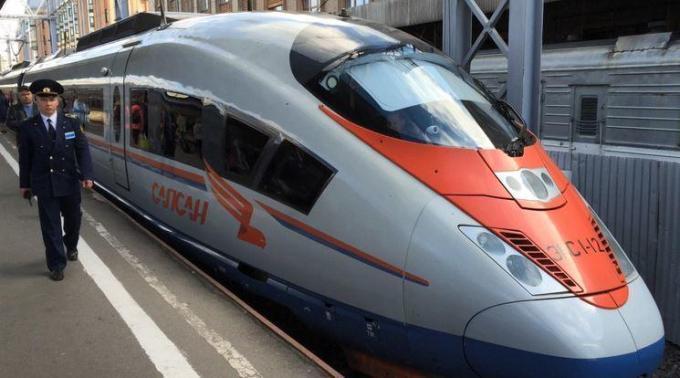 Sapsan, Russischer Hochgeschwindigkeitszug