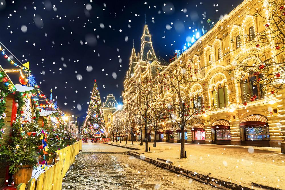 Silvester Kurzurlaub in Moskau