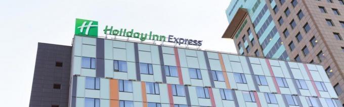 Fassade - Holiday Inn Express Moskau***