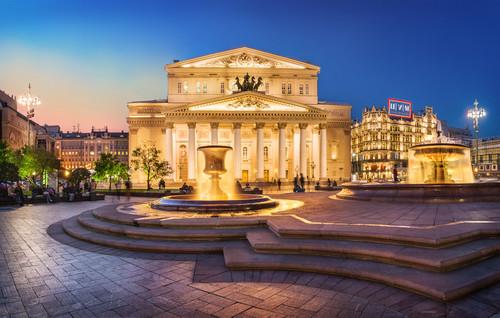 Urlaub in Moskau: Bolschoi Theater