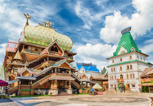 Reise nach Moskau, Ismailowo-Trödelmarkt