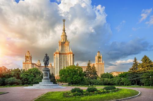 Hochhaus, Städtereise nach Moskau