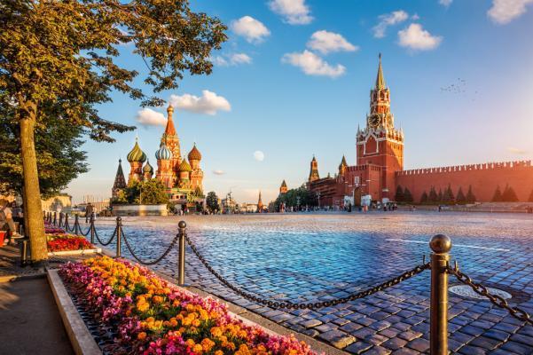 Reise nach Moskau: Roter Platz, Moskau