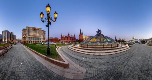 Einkaufszentrum Okhotny Riad, Moskau