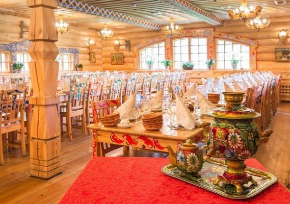 Restaurant Podvorje, St. Petersburg
