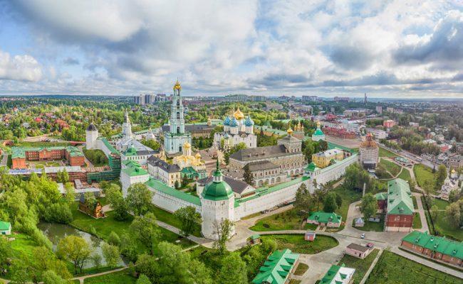 Sergijew Possad. Städtereise nach Moskau