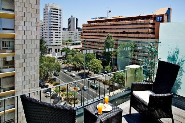 Balkon - America Diamonds Hotel, Lissabon