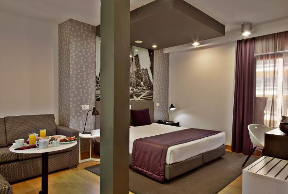 Doppelzimmer - America Diamonds Hotel, Lissabon