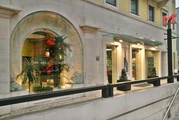 Eingang - America Diamonds Hotel, Lissabon