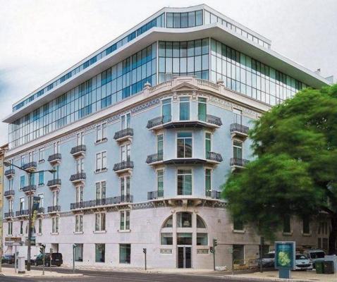 Fassade - Hotel Jupiter, Lissabon