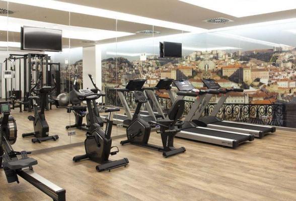 Gym - Hotel Jupiter, Lissabon