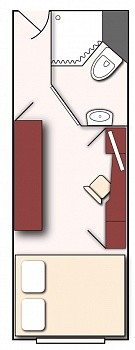 Grundriss Standard-Doppelkabine