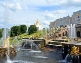 Pauschalreise nach St. Petersburg: Peterhof Gruppenreise nach St. Petersburg