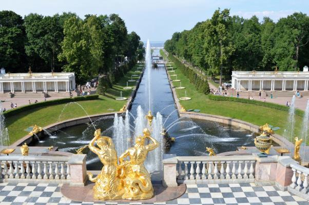 St. Petersburg Weiße Nächte, Peterhof