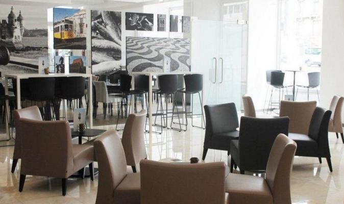 Lobby - Hotel Jupiter, Lissabon