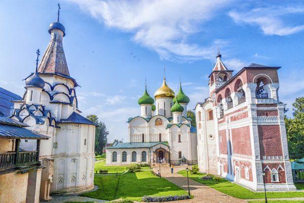 Susdal, Kloster, Goldener Ring Russland