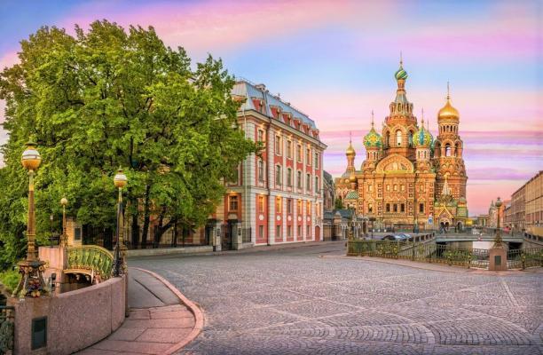 St. Petersburg Weiße Nächte - Erlöserkirche