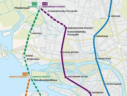 Metroplan St. Petersburg