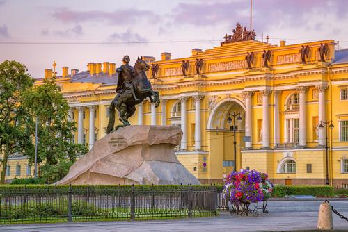 der Eherene Reiter: St. Petersburg Geburtstag