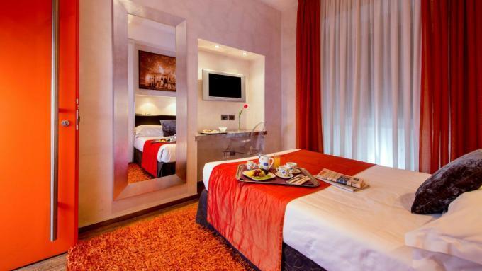 Einzelzimmer - Hotel Ariston, Rom