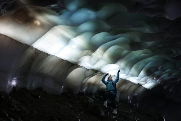 Eishöhle Aktivreise Kamtschatka