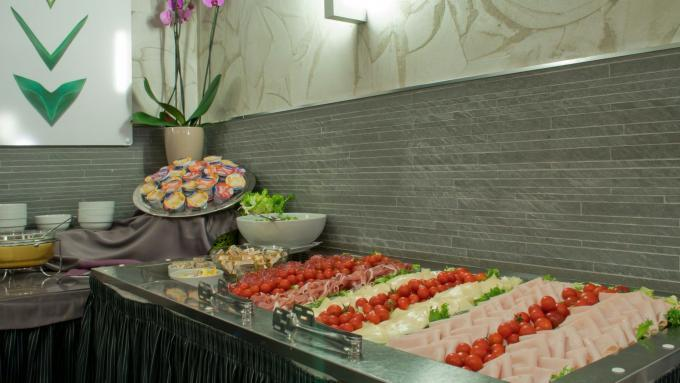 Frühstück - Hotel Ariston, Rom