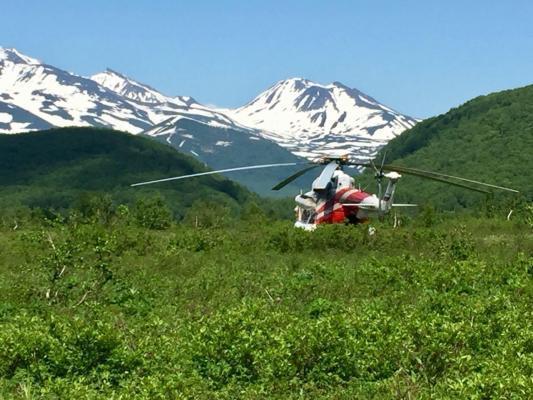 Helikopter, Berge