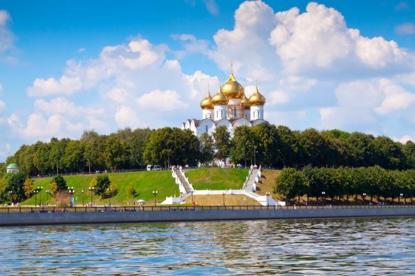 Himmelfahrts-Kathedrale, Flusskreuzfahrt Jaroslawl