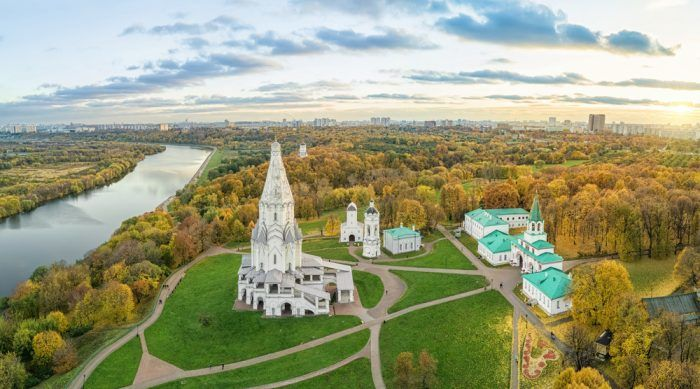 Reise nach Moskau, Kolomenskoje
