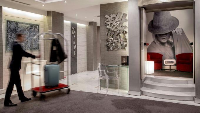 Lobby - Hotel Ariston, Rom