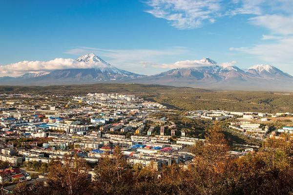 Stadt, Vulkane Aktivreise Kamtschatka
