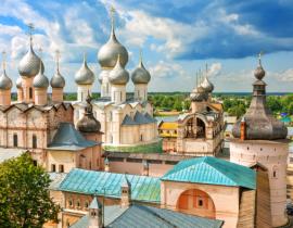 Moskau und der Goldene Ring: Rostow