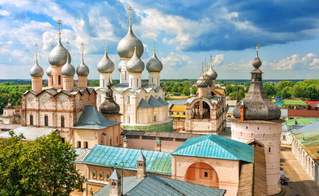 Moskau und der Goldene Ring: Rostow Russland von oben
