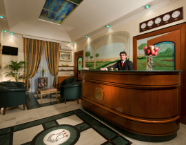 Lobby - Hotel Radisson Sonya, Moskau