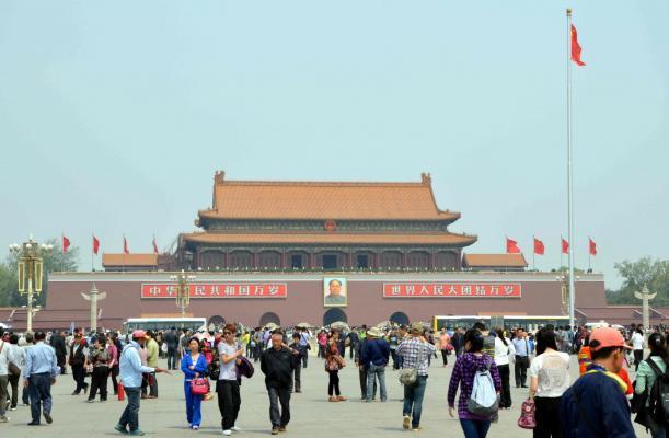 Tiananmen-Platz Transsib klassisch