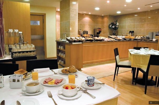 Frühstück - Hotel Principe, Lissabon