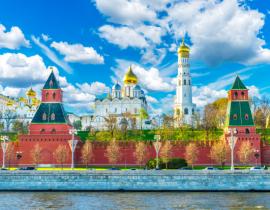Kombireise Moskau Kasan: Moskau Kreml Kathedralen, Flusskreuzfahrt Moskau St. Petersburg