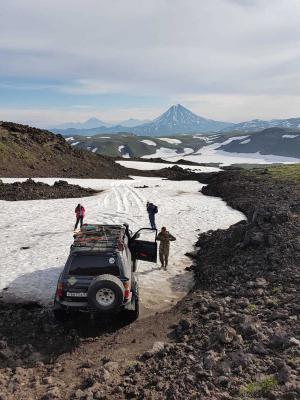 Gorelij Vulkan, Kamtschatka